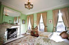 Carnegie Hill brownstone - bedroom