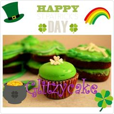 Happy St. Patrick's Day!   #glitzycake #stpatricksday #lucky #green #luckoftheirish