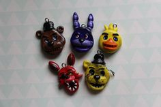 Five Nights at Freddy's Phone Charm Polymer Clay by BonaCharms