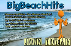 It always time to go to the Beach! Fun and games in the Sand Good Food, Good Beverages and at BigBeachHits Great Surfing! Mail Marketing, Affiliate Marketing, Internet Marketing, Men Beach, Beach Fun, Advertising Methods, Search Engine Marketing, Search Engine Optimization, Surfing