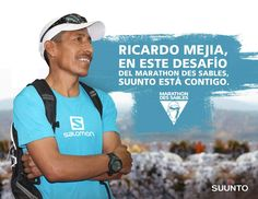 ¡Éxito a Ricardo Mejia y a Isis Breiter en el Marathon Des Sables! Sigue la transmisión en vivo dando click aquí.