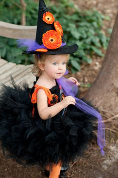 Super cute childrens Witch Costume Tutu Pedi Skirt ?? IzzysCouture  sc 1 st  Pinterest & Toddler witch costume. ?? FluffNFlair4UrAffair ?? Etsy | Witch ...
