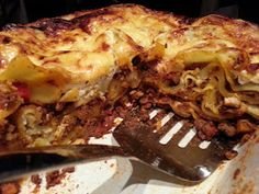 Slimming World Delights: Lasagne