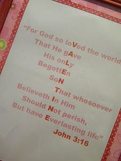 Picture made from scripture - totally doing this for a valentines day card.  For everyone I know.