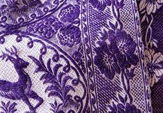 Purple Stitching