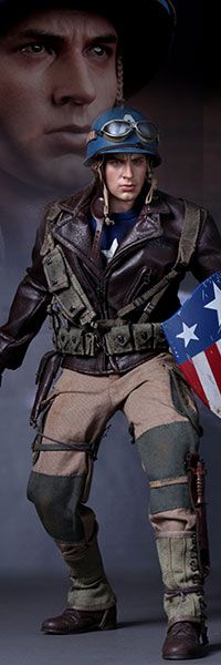 Captain America - Rescue Version Sixth Scale Figure: This looks amazing! Definitely my favorite costume from the movie!