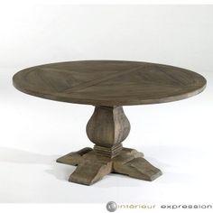 """Table Ronde Parquet """" VERSAILLES"""""""