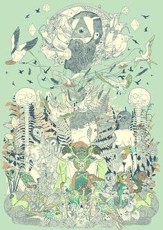 Surreal Saturday – The Gorgeous Illustrations of Dromsjel