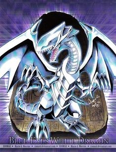 Blue-Eyes White Dragon by Riomak.deviantart.com