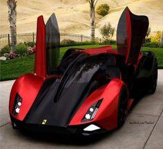 ❦ Ferrari -Dream Car.....! Je vais bientôt me l'acheter