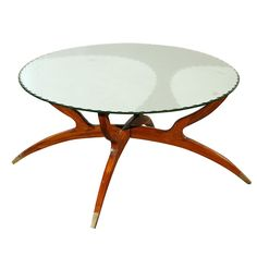 Italian coffee table, Gio Ponti era | From a unique collection of antique and modern coffee and cocktail tables at http://www.1stdibs.com/furniture/tables/coffee-tables-cocktail-tables/