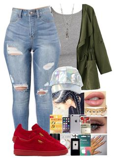 """""""Untitled #24"""" by ayoo-tj ❤ liked on Polyvore featuring Love Heals and Puma"""