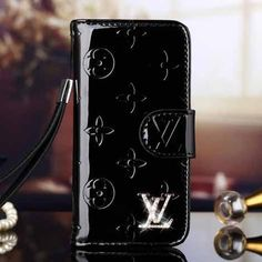 Louis Vuitton iPhone 6 and iPhone 6 Plus Black Case LV Vernis Wallet Cover 2015 - High Quality Case - iPhoneProtectiveCases.com