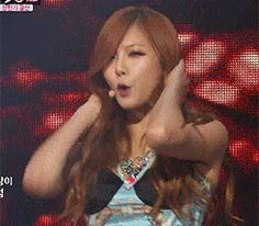 Hyuna - Troublemaker Performance GIFs 4minute Hyunseung