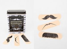 i 'mustache' you where to get these band-aids  but i guess i'll 'shave' it for later