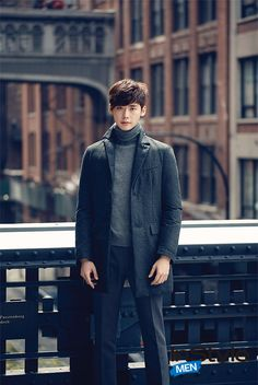 Lee Jong Suk ♡ #KDrama // InStyle Magazine September Issue '14