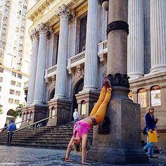 Yogando no Teatro Rio