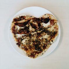Selfmade pizza