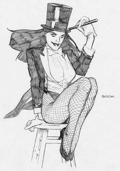 Zatanna by Ryan Sook