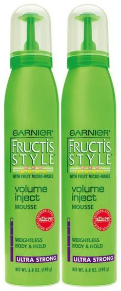 Best Drugstore Buys: Hair Products: Best Volumizer: Garnier Fructis Style Volume Inject Mousse