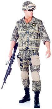 PartyBell.com - U.S. Army Ranger Men's Costume