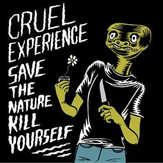 "#Punk Reviews:  CRUEL EXPERIENCE: Save the nature kill yourself http://www.punkadeka.it/cruel-experience-save-nature-kill/ Da Lucca con furore, i Cruel Experience ci propongono ""Save The Nature Kill Yourself"", un doppio EP uscito a settembre del 2014 per la francese Sirona Records. La band stessa dice del disco: ""Doppio EP ma un unico viaggio, storia di un ragazzo che vive nel conflitto tra vita..."