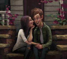 Zac Retz Art: Moments Together