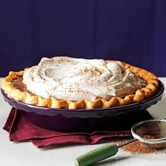 Silky Chocolate Pie Recipe -Chocolate makes the world go round! We have a family that just loves chocolate pies, and this version with a splash of brandy is smooth as silk and oh-so-special. —Kathy Hewitt, Cranston, Rhode Island