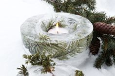 Don't forget to decorate your outdoor areas, if you've got them. These islykter—Bo Bedre of Norway has instructions—can light your guests' path to your home.