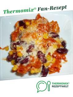 Nudelauflauf Mexikanisch mit Ajvar von Erlebniskochen.Soest. Ein Thermomix ® Rezept aus der Kategorie Hauptgerichte mit Gemüse auf www.rezeptwelt.de, der Thermomix ® Community.