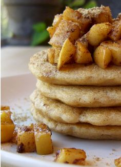 Wholesome Whole Wheat Vegan Pancakes or Waffles (for Daniel Fast, you can't use baking powder so a small amount of baking soda instead?)