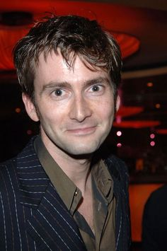 David Tennant /You've got a smile that could light up this whole town../