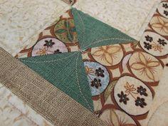 Caminho de mesa - detalhe do quilt
