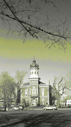 Chardon Courthouse, Chardon, Ohio outside of Cleveland.
