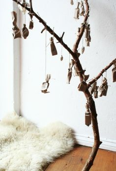 christmas calendar tree | minamoka.com