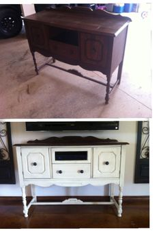 Repurposed Buffet Looks Very Similar To The One I Just Got From My Grandma