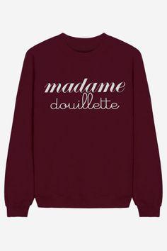 Madame Gourmande - brodé Robe Pull, Veste, Vetement Ado, Mode Drôle, Habits 63635fc99c40