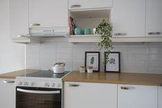 Keittiöön saa lisää vihreyttä paitsi viherkasvein, myös viherkasvikuvin.