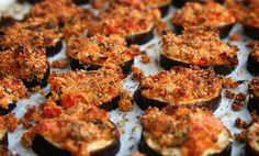 Eggplants au gratin