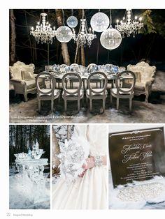 Photoshoot by: Eventdecorator.com    As seen in Elegant Wedding Magazine