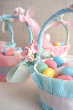 Beautiful Easter Baskets