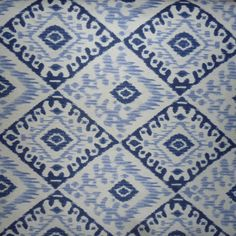 Ikat Extra Wide Oilcloth in Blue A pretty Ikat design from Spain The diamond shapes are 27 cms wide by 22 cms deep Why this is special It is Acrylic Sewing Hacks, Sewing Crafts, Cushions To Make, Oilcloth, Blue Rooms, Florida Home, Diamond Shapes, Ikat, Boy Room