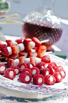 Stuffed raspberries