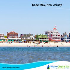 Cape May is crown jewel on the farthest south of New Jersey with gorgeous beaches and playful dolphins jumping in the wake #OceanBreeze