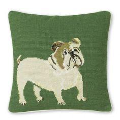 bulldog-needlepoint-pillow