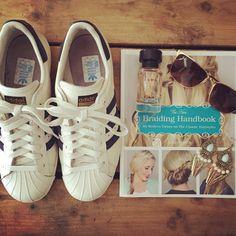 #adidas #tiffany #braids #rayban #zara #iam