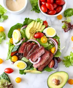 Steak Cobb Salad Wit