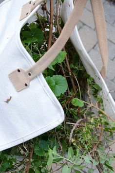 Repurposing a firewood carrier to collect weeds — Art of Simplification