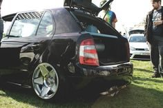 Fabia RS on wheels Skoda Fabia, Cars And Motorcycles, Clever, Wheels, Vehicles, Wheel Rim, Vehicle, Tools