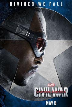 El Puffs. Captain America Civil War Character Posters. #TeamCap